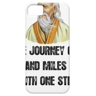 the journey of a thousand miles begins with a sing iPhone 5 covers