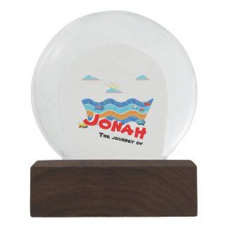 The journey of Jonah Snow Globe
