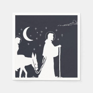 The Journey To Bethlehem Disposable Napkins