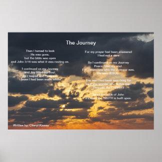The Journey  Written by: Cheryl Kinney Poster