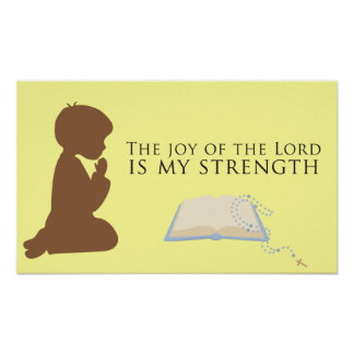 The Joy of the Lord Poster