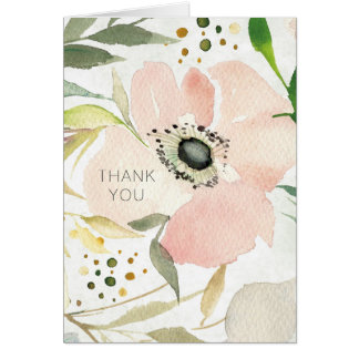 The Joy of White | Watercolor Floral Pattern Card