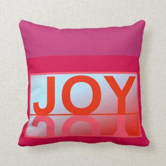 The JOY Pillow-Home Decor-Cranberry/Red Throw Pillow