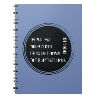 The Joy That's Coming Romans 8:18 Notebooks