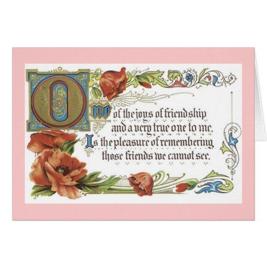 The Joys of Friendship Card