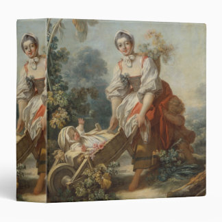 The Joys of Motherhood by Fragonard Vinyl Binders