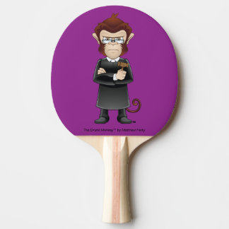 The Judge Drunk Monkey Ping Pong Paddle