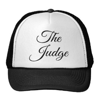 The Judge Trucker Hat