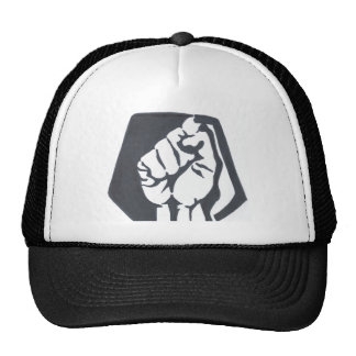 The Judged resist fist trucker hat