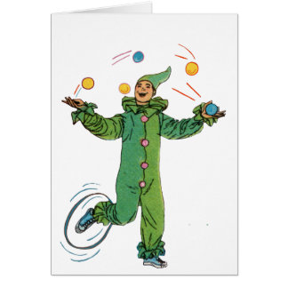The  Juggling Clown Cards