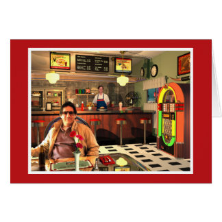 The Jukebox Diner Red Card