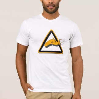 The jump, jumping kitesurfer sign T-Shirt