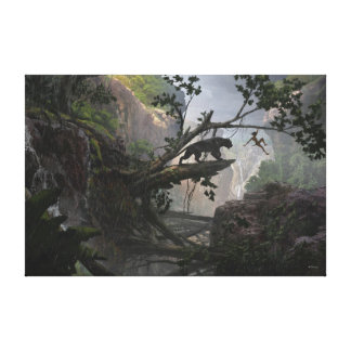The Jungle Book | Mystery of the Jungle Canvas Print