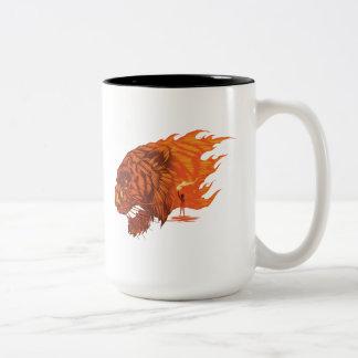 The Jungle Book   Shere Khan & Mowgli Two-Tone Coffee Mug