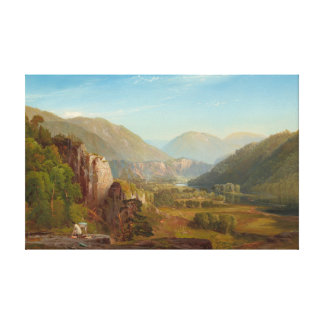 The Juniata River, Pennsylvania by Thomas Moran Canvas Print