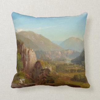 The Juniata River, Pennsylvania by Thomas Moran Throw Pillow