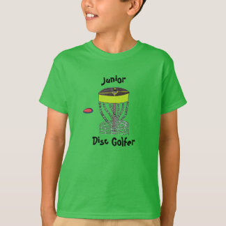 The Junior Disc Golfer kids t-shirt