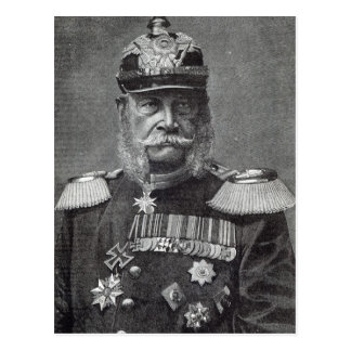 The Kaiser Wilhelm, from 'Leisure Hour', 1888 Postcard