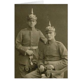 The Kaiser's Boys Card