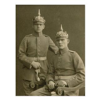 The Kaiser's Boys Postcard