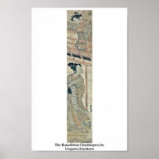 The Kanadehon Chushingura by Utagawa,Toyoharu Poster