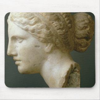 The Kauffmann Head, Roman (marble) Mouse Pad