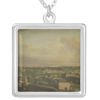 The Kaunitz Palace and Garden, Vienna, 1759/60 Silver Plated Necklace