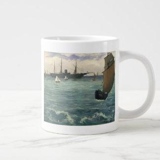 The Kearsarge at Boulogne Large Coffee Mug