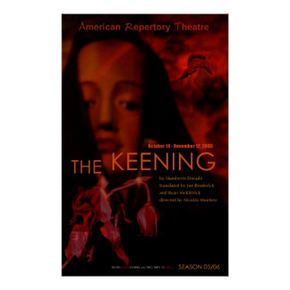 THE KEENING  POSTER