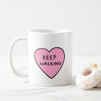 The Keep Walking Mug