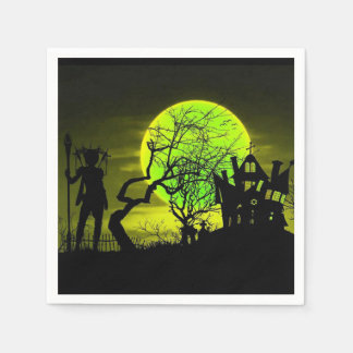 The Keeper Halloween Party Paper Napkins