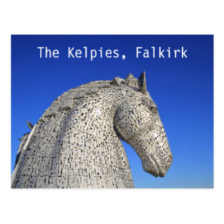 The Kelpies, Falkirk, postcard