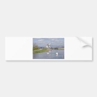 the Kelpies , Helix Park , Falkirk Bumper Sticker