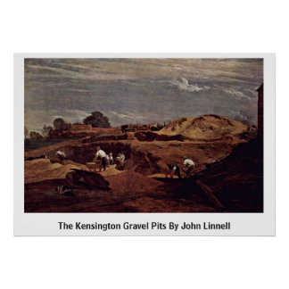 The Kensington Gravel Pits By John Linnell Poster