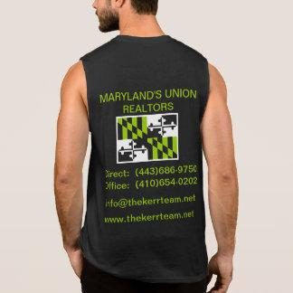 The Kerr Team Workout Shirt- Black Sleeveless Shirt