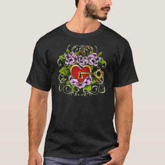 The Key To My Heart by Janiece Senn T-Shirt