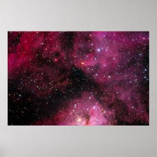 The Keyhole Nebula Poster