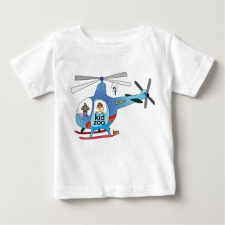 The kid zoo helicopter tshirt