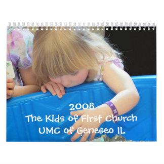 The Kids of First Church Calendar