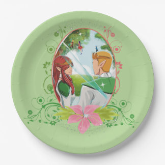 """The King and Queen Custom Paper Plates 9"""""""