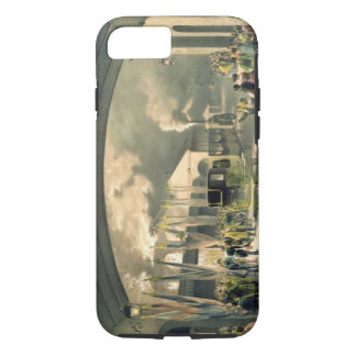 The King at New Cross Station (litho) iPhone 7 Case