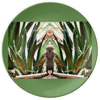 """""""The King"""" Custom Porcelain Plate"""