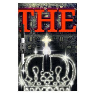 THE KING DRY ERASE WHITE BOARD