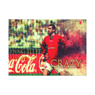 the king eric canvas print