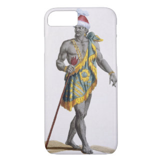 The King of Florida, 1780 (coloured engraving) iPhone 7 Case