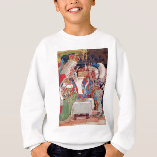 The King of Hearts Questions the Cook Sweatshirt