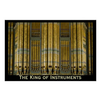 The King of Instruments organ poster - Birmingham