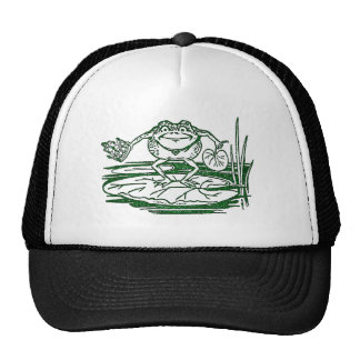 The King of the Bullfrogs Doffs His Crown Trucker Hat