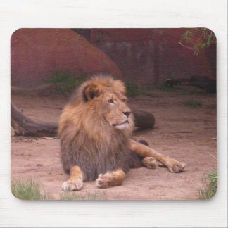 The King of the Jungle Mouse Pad
