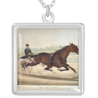 The King of the Turf, 'St. Julien' Silver Plated Necklace